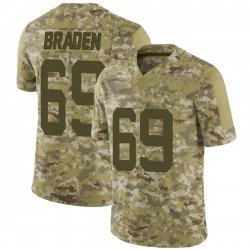 Limited Youth Ben Braden New York Jets Nike 2018 Salute to Service Jersey - Camo