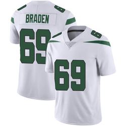 Limited Youth Ben Braden New York Jets Nike Vapor Jersey - Spotlight White