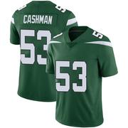 Limited Youth Blake Cashman New York Jets Nike Vapor Jersey - Gotham Green
