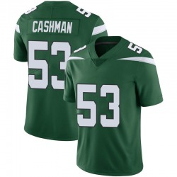 Limited Youth Blake Cashman New York Jets Nike Vapor Jersey - Gotham Green
