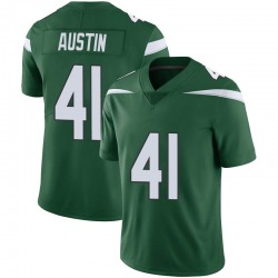 Limited Youth Blessuan Austin New York Jets Nike Vapor Jersey - Gotham Green