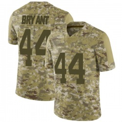 Limited Youth Brandon Bryant New York Jets Nike 2018 Salute to Service Jersey - Camo
