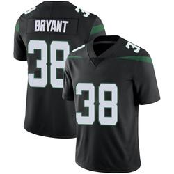 Limited Youth Brandon Bryant New York Jets Nike Vapor Jersey - Stealth Black