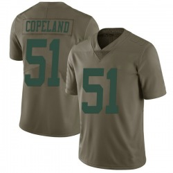 Limited Youth Brandon Copeland New York Jets Nike 2017 Salute to Service Jersey - Green