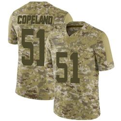 Limited Youth Brandon Copeland New York Jets Nike 2018 Salute to Service Jersey - Camo