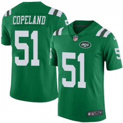 Limited Youth Brandon Copeland New York Jets Nike Color Rush Jersey - Green