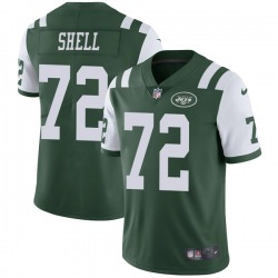 Limited Youth Brandon Shell New York Jets Nike Team Color Vapor Untouchable Jersey - Green
