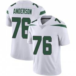 Limited Youth Calvin Anderson New York Jets Nike Vapor Jersey - Spotlight White