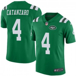 Limited Youth Chandler Catanzaro New York Jets Nike Color Rush Jersey - Green