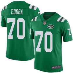 Limited Youth Chuma Edoga New York Jets Nike Color Rush Jersey - Green