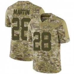 Limited Youth Curtis Martin New York Jets Nike 2018 Salute to Service Jersey - Camo