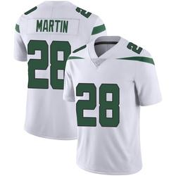 Limited Youth Curtis Martin New York Jets Nike Vapor Jersey - Spotlight White