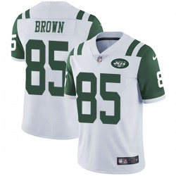 Limited Youth Daniel Brown New York Jets Nike Vapor Untouchable Jersey - White