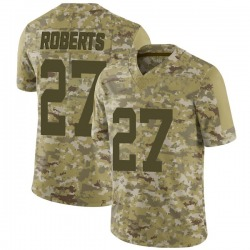Limited Youth Darryl Roberts New York Jets Nike 2018 Salute to Service Jersey - Camo