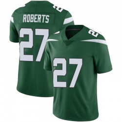 Limited Youth Darryl Roberts New York Jets Nike Vapor Jersey - Gotham Green