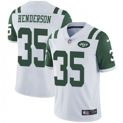 Limited Youth De'Angelo Henderson New York Jets Nike Vapor Untouchable Jersey - White