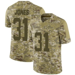 Limited Youth Derrick Jones New York Jets Nike 2018 Salute to Service Jersey - Camo