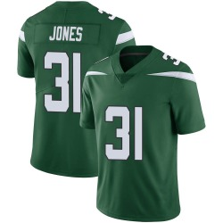 Limited Youth Derrick Jones New York Jets Nike Vapor Jersey - Gotham Green