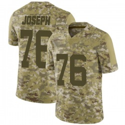 Limited Youth Dieugot Joseph New York Jets Nike 2018 Salute to Service Jersey - Camo
