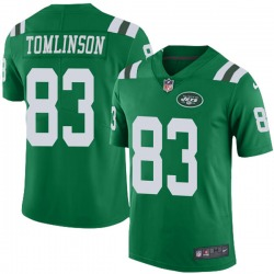 Limited Youth Eric Tomlinson New York Jets Nike Color Rush Jersey - Green