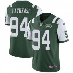 Limited Youth Folorunso Fatukasi New York Jets Nike Team Color Vapor Untouchable Jersey - Green