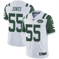Limited Youth Fredrick Jones New York Jets Nike Vapor Untouchable Jersey - White