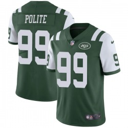 Limited Youth Jachai Polite New York Jets Nike Team Color Vapor Untouchable Jersey - Green