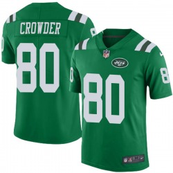 Limited Youth Jamison Crowder New York Jets Nike Color Rush Jersey - Green