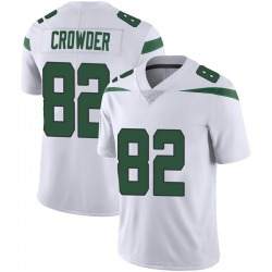 Limited Youth Jamison Crowder New York Jets Nike Vapor Jersey - Spotlight White