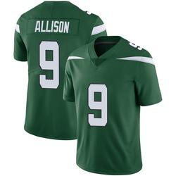Limited Youth Jeff Allison New York Jets Nike Vapor Jersey - Gotham Green
