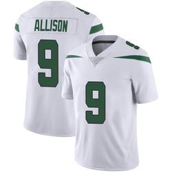 Limited Youth Jeff Allison New York Jets Nike Vapor Jersey - Spotlight White
