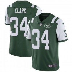 Limited Youth Jeremy Clark New York Jets Nike Team Color Vapor Untouchable Jersey - Green