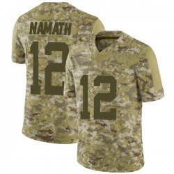 Limited Youth Joe Namath New York Jets Nike 2018 Salute to Service Jersey - Camo