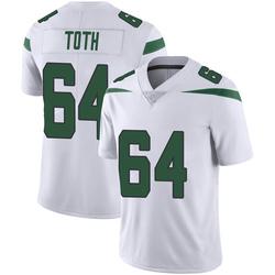 Limited Youth Jon Toth New York Jets Nike Vapor Jersey - Spotlight White