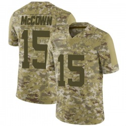 Limited Youth Josh McCown New York Jets Nike 2018 Salute to Service Jersey - Camo