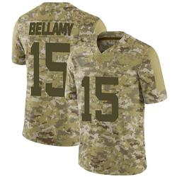 Limited Youth Joshua Bellamy New York Jets Nike 2018 Salute to Service Jersey - Camo