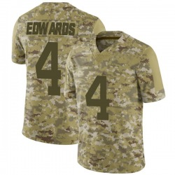 Limited Youth Lachlan Edwards New York Jets Nike 2018 Salute to Service Jersey - Camo