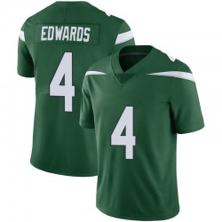 Limited Youth Lachlan Edwards New York Jets Nike Vapor Jersey - Gotham Green