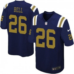 Limited Youth Le'Veon Bell New York Jets Nike Alternate Vapor Untouchable Jersey - Navy Blue