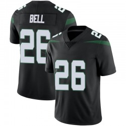 Limited Youth Le'Veon Bell New York Jets Nike Vapor Jersey - Stealth Black