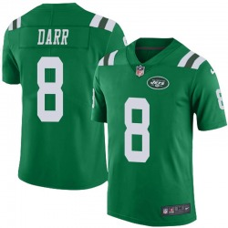 Limited Youth Matt Darr New York Jets Nike Color Rush Jersey - Green