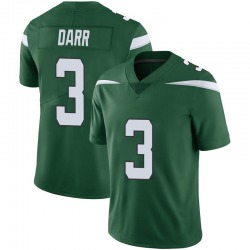 Limited Youth Matt Darr New York Jets Nike Vapor Jersey - Gotham Green
