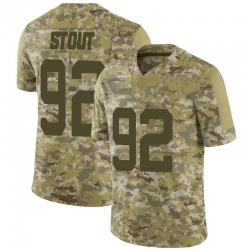 Limited Youth MyQuon Stout New York Jets Nike 2018 Salute to Service Jersey - Camo
