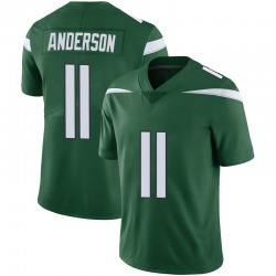 Limited Youth Robby Anderson New York Jets Nike Vapor Jersey - Gotham Green