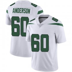 Limited Youth Ryan Anderson New York Jets Nike Vapor Jersey - Spotlight White