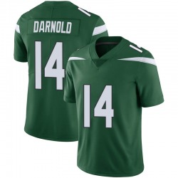 Limited Youth Sam Darnold New York Jets Nike Vapor Jersey - Gotham Green