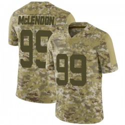 Limited Youth Steve McLendon New York Jets Nike 2018 Salute to Service Jersey - Camo
