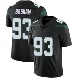 Limited Youth Tarell Basham New York Jets Nike Vapor Jersey - Stealth Black
