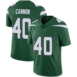 Limited Youth Trenton Cannon New York Jets Nike Vapor Jersey - Gotham Green
