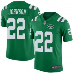 Limited Youth Trumaine Johnson New York Jets Nike Color Rush Jersey - Green